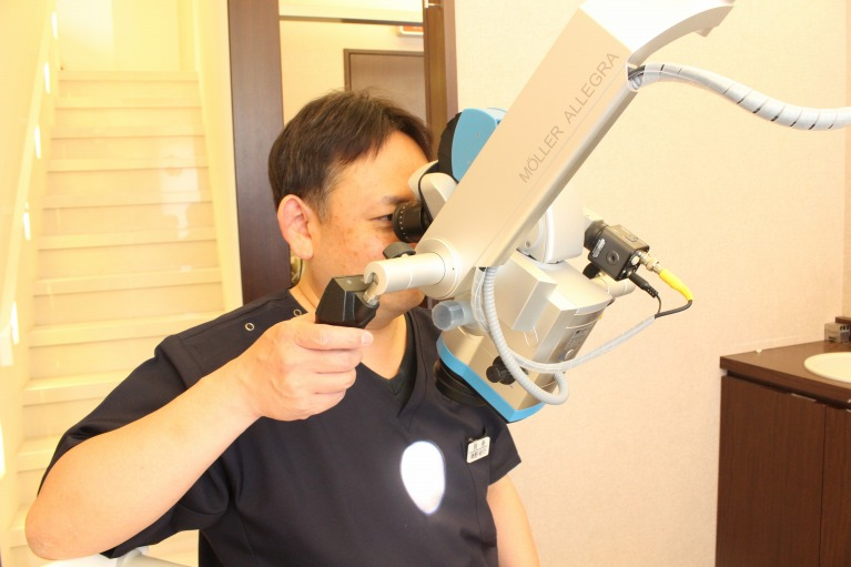 深い虫歯でも大切な歯を残す治療「根管治療」