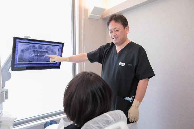 歯の重要性を伝える